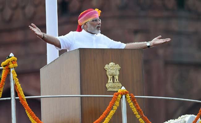 pm modi red fort afp