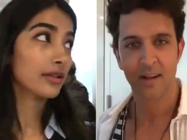Pooja, Are You Recording? Umm, Hrithik Roshan Doesn't Know What to Say