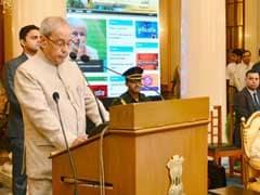 President Pranab Mukherjee Launches Akashvani Maitree Channel