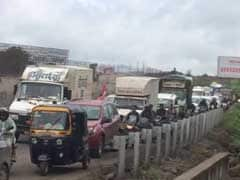 An Extended Weekend Leads To Traffic Mess On Pune-Satara Road