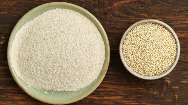 quinoa flour'