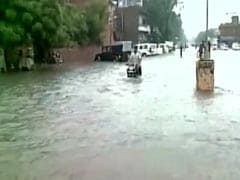 Flood-Like Situation In Rajasthan, Two Washed Away