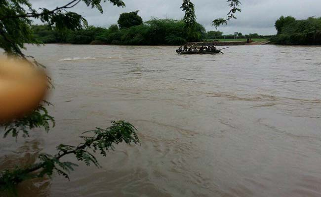 Indian Army deploys rescue columns in flood-hit areas of Rajasthan