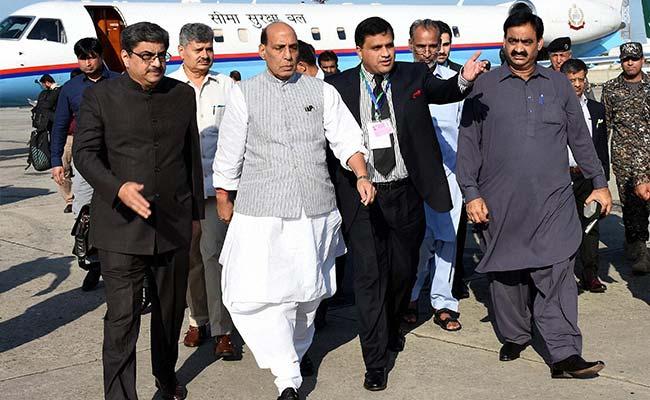 'Pak Model Of Democracy': Delhi's Jibe As Rajnath Singh Returns