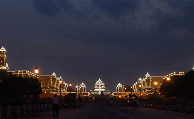 New Dynamic Lighting At Rashtrapati Bhavan To Treat Visitors Everyday