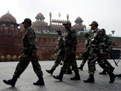 Elaborate Security Arrangements Across Delhi On Independence Day, Janmashtami