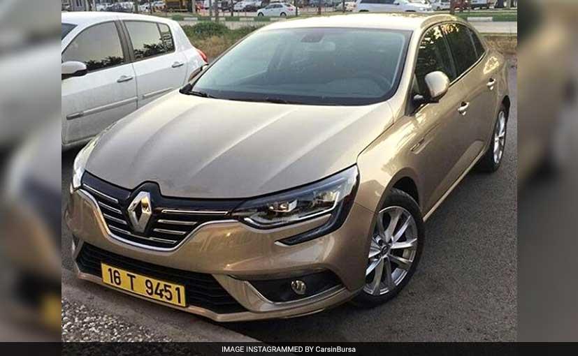 Renault Megane Sedan Front