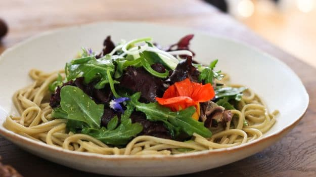 Buck Tradition: Slurp Soba In A Salad Or With Pasta Sauces