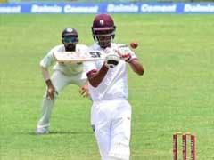 PAKvsWI:71 रन पर पांच विकेट गिरने के बाद रोस्टन चेज और शेन डाउरिच ने वेस्टइंडीज को संभाला
