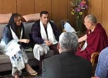 When Salman Khan and Iulia Vantur Met Dalai Lama in Ladakh