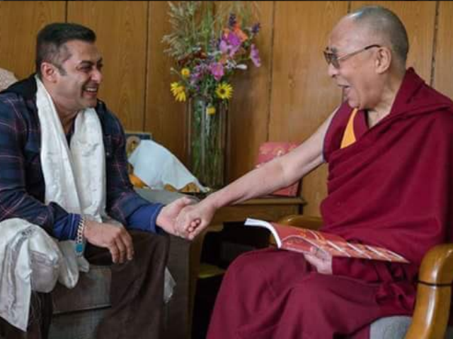 When Salman Khan and Iulia Vantur Met Dalai Lama in Ladakh