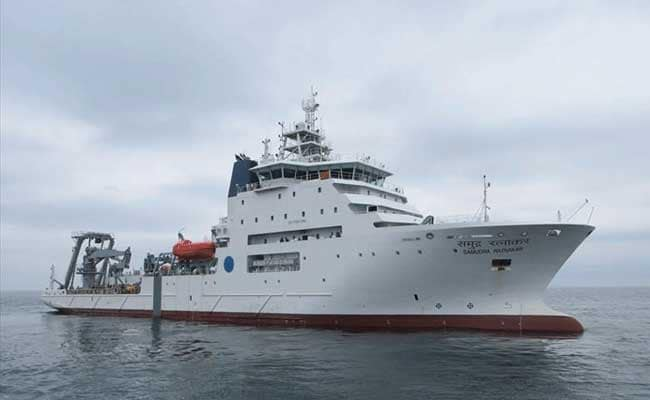 In Hunt For Missing AN-32 Plane, Ship Detects Underwater Objects