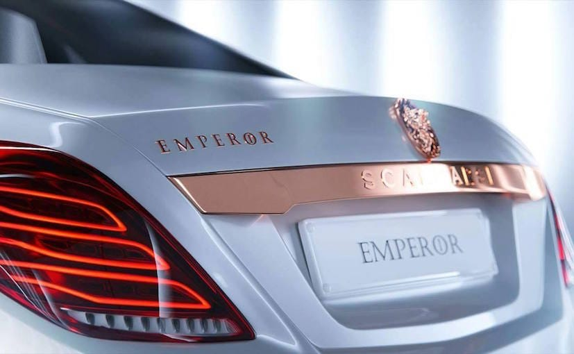 This Mercedes-Maybach S600 Gets The Emperor's Touch From ...