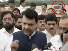 Maharashtra Minister Prakash Mehta Denies Taking Selfie At Bridge Collapse Site
