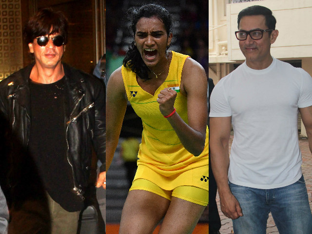 PV Sindhu, You Made India Proud, Tweet Big B, Shah Rukh, Aamir