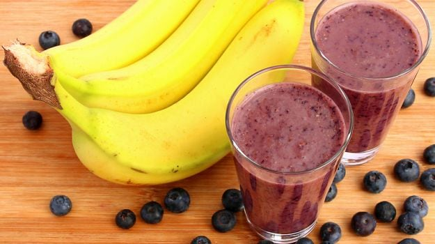 How to Make The Ultimate Banana and Blueberry Smoothie