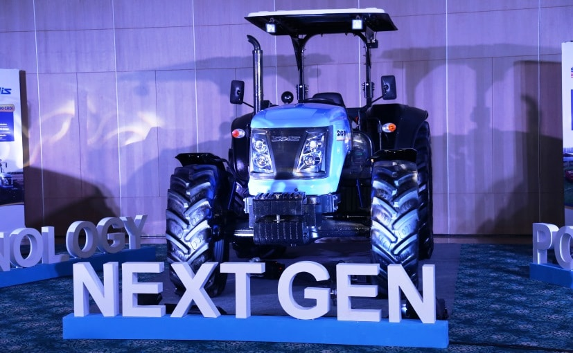 Sonalika Unveils India's First Ever 120 HP Tractor - Solis 120