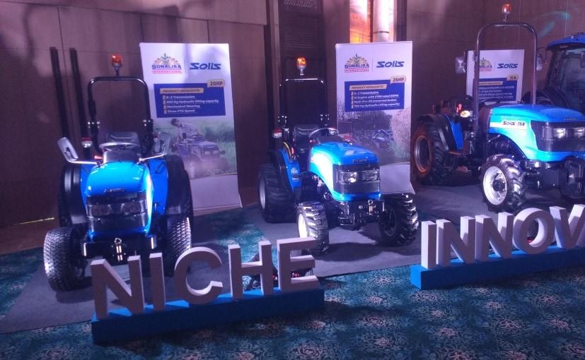 Sonalika Solis Tractor Range