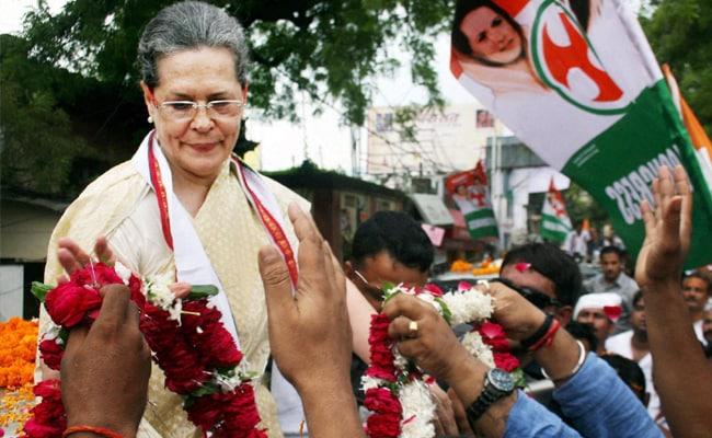 चुनाव परिणामों से पहले कांग्रेस अध्यक्ष सोनिया गांधी इलाज के लिए गईं विदेश, राहुल को सौंपी कमान
