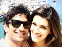 It's A Wrap For <i>Raabta</i>. Sushant and Kriti Celebrate by Snorkeling