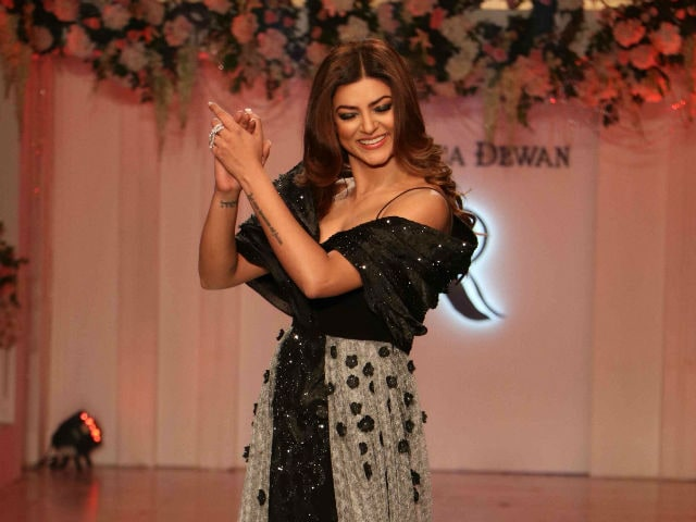 Sushmita Sen's Show-Stopper Video Proves She's Still the Best on the Ramp