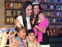 Inside Sushmita Sen's Daughter Alisah's Fun-Filled Birthday Party
