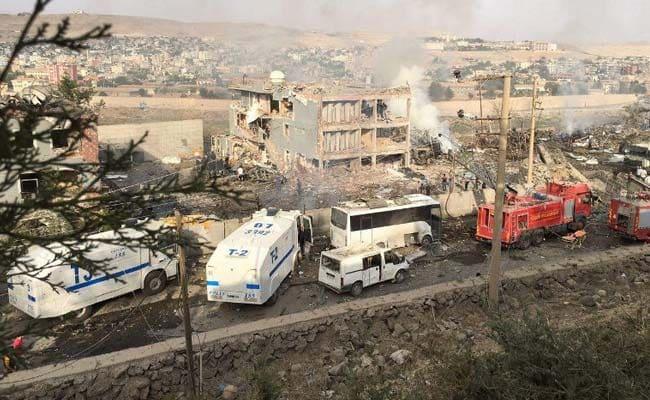 11 Turkish Police Officers Killed In Suicide Bombing Blamed On Kurdish Rebels