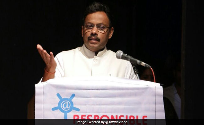 Change In Choice Of Colleges Delayed Class 11 Admissions: Minister Vinod Tawde