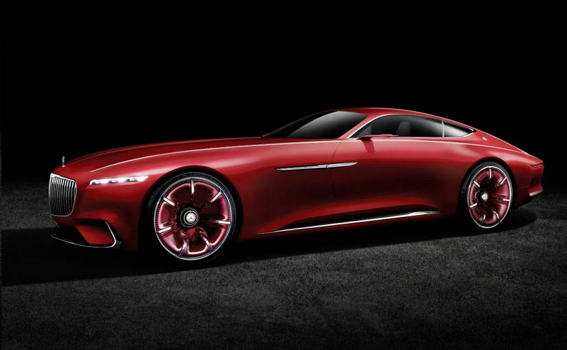 Vision Mercedes-Maybach 6 Concept Revealed