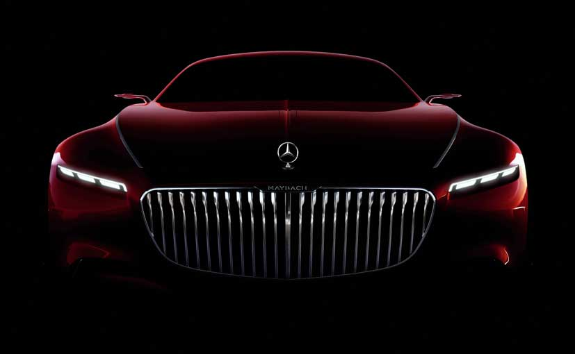 Vision Mercedes-Maybach 6 Coupe Teased; To Be Unveiled Next Week