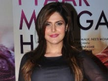 Zarine Khan Hasn't Quit <i>Divine Lovers</i>. She's Excited to Work With Irrfan