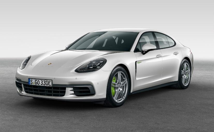 Porsche Unveils The Panamera 4E Hybrid