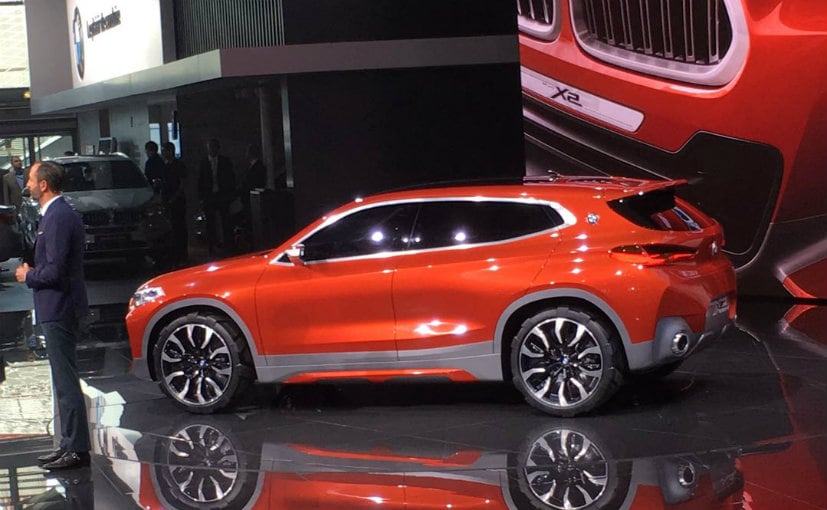Bmw 2017 X6 Interior >> Paris Motor Show 2016: BMW X2 Concept Breaks Cover - NDTV ...