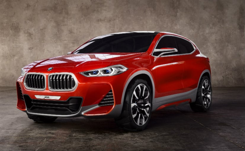 BMW X2 Concept at Paris Motor Show