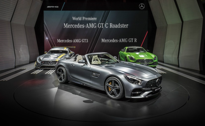 Paris Motor Show 2016: Mercedes-AMG Takes The Wraps Off The AMG GT Roadsters