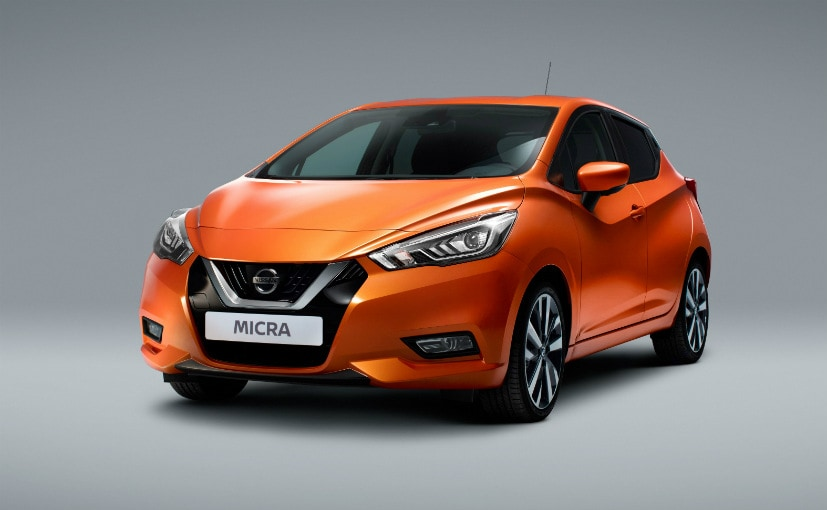 New-Gen Nissan Micra at Paris Motor Show 2016