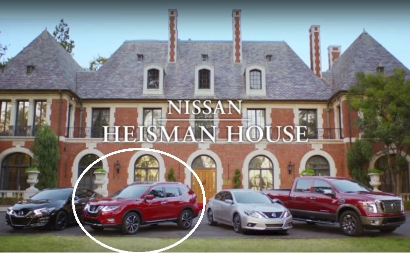 2017 Nissan X-Trail in the TV Commercial