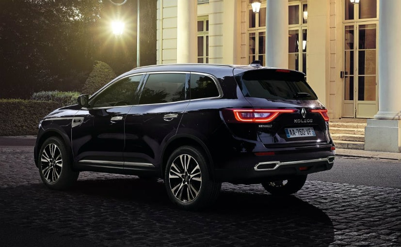 Paris Motor Show 2016 India Bound Renault Koleos Showcased Ndtv Carandbike