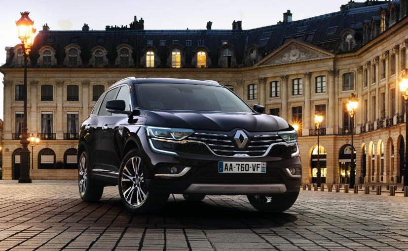 2017 Renault Koleos at Paris Motor Show