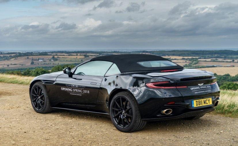 2018 Aston Martin DB11 Volante Prototype