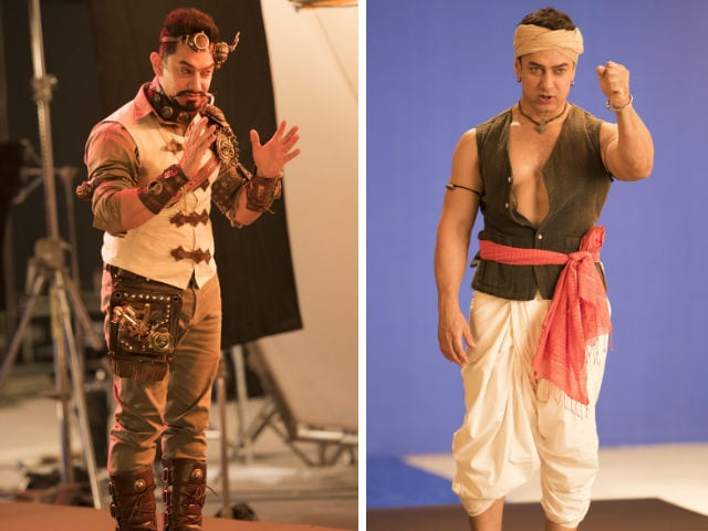 The Secret Behind Aamir Khan's Mysterious Look Revealed