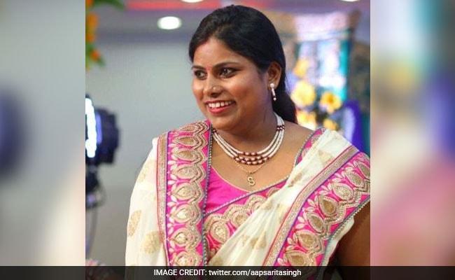 AAP Lawmaker Sarita Singh Receives Threat Calls, Files Complaint