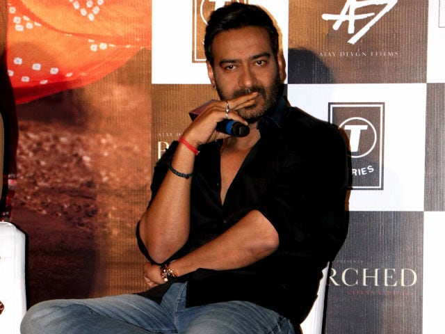 Ajay Devgn: Parched Isn't Just About Women, But Society in General