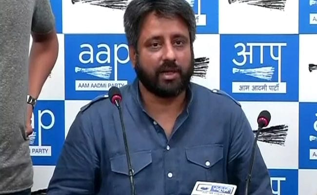 Delhi Waqf Board Chairman, Amanatullah Khan, Suspends 2 Officials