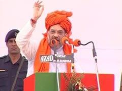 Amit Shah Targets Mayawati Over Bunglows, Samajwadi Party On Corruption