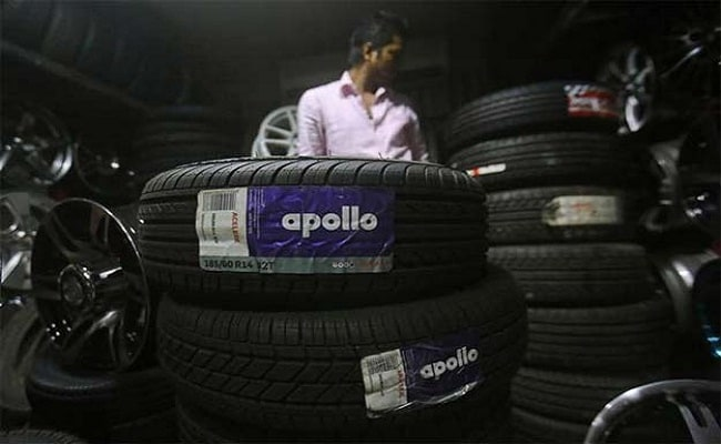 Apollo Tyres Q2 Net Down 7% At Rs 260 Crore