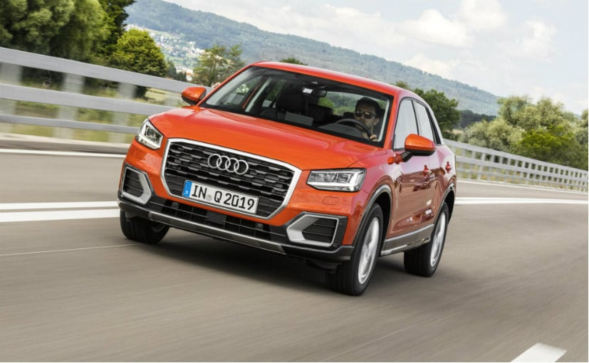 suvs coming to india audi q2 ndtv carandbike. Black Bedroom Furniture Sets. Home Design Ideas