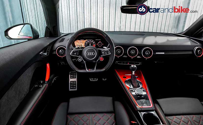 Audi Tt Interieur Of Tyke Turns Monster Audi Tt Rs Review Befirstrank