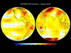 This August Was The Hottest Month Recorded In 136 Years: NASA