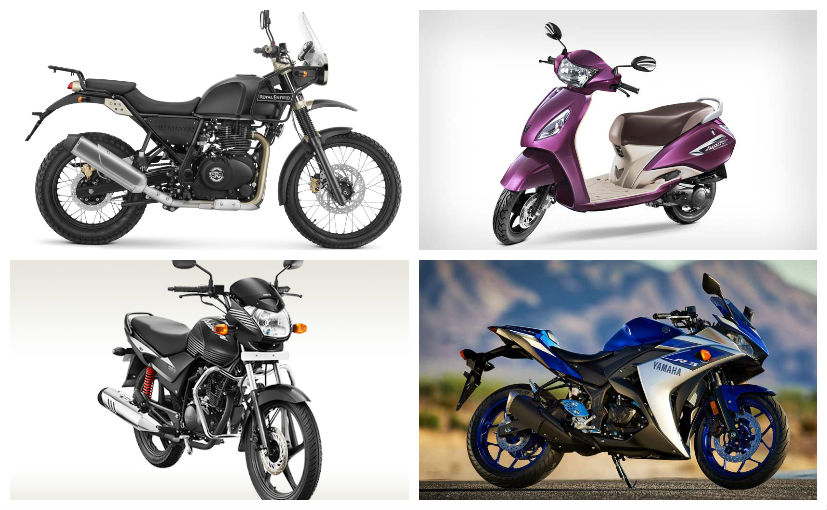 august two wheeler sales report